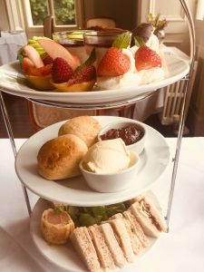 Afternoon tea for two in Lampeter