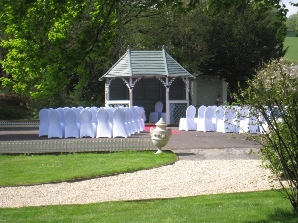Get married outside in our Garden pavilion