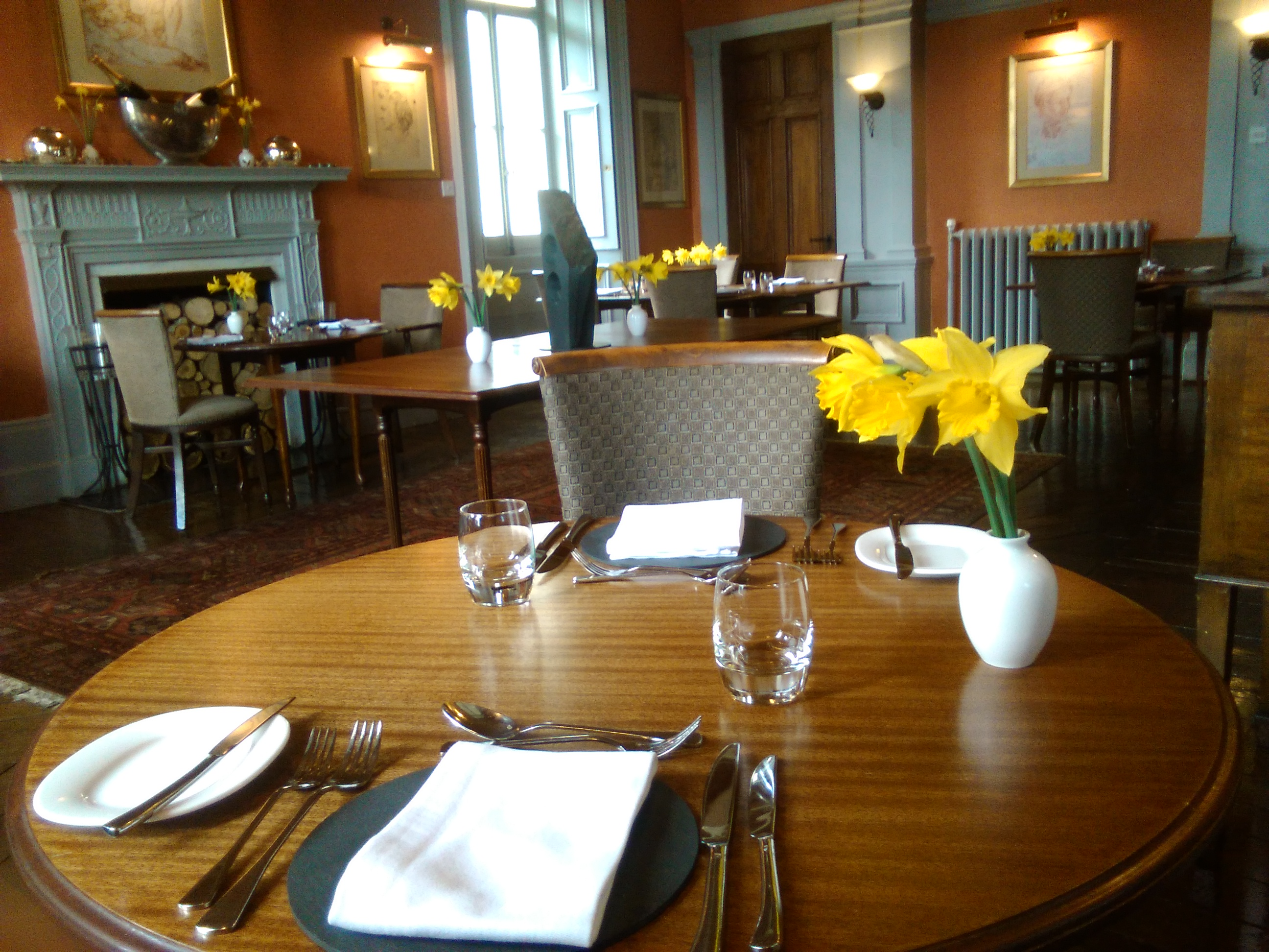 Restaurant in lampeter ceredigion book a table online the falcondale - Book a restaurant table online ...