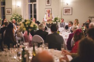 Evening receptions at The Falcondale