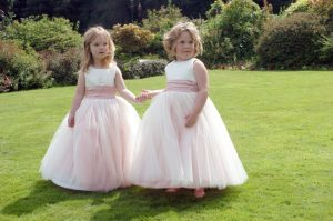 Little Bridesmaids, pretty in pink
