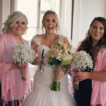 All laughs at Falcondale wedding