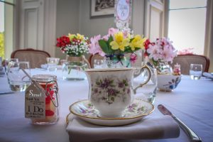 Vintage wedding tea