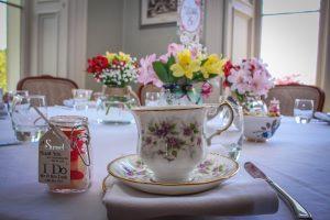 Vintage wedding tea