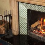 Roaring Fire at the Falcondale, Lampeter