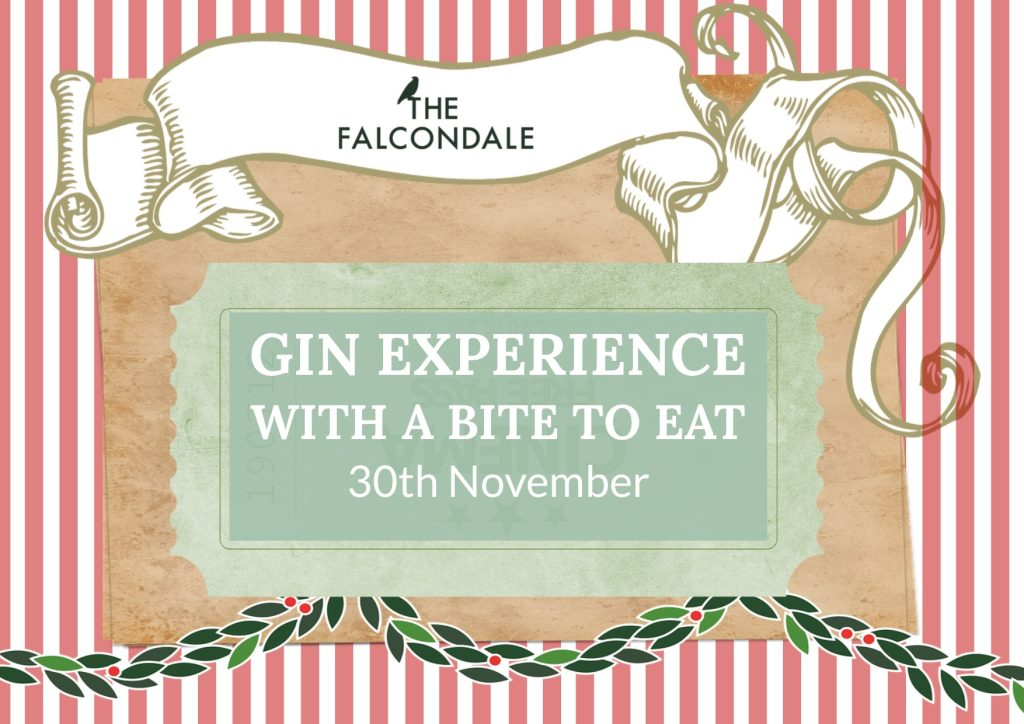 Gin Experience, with a bite to eat