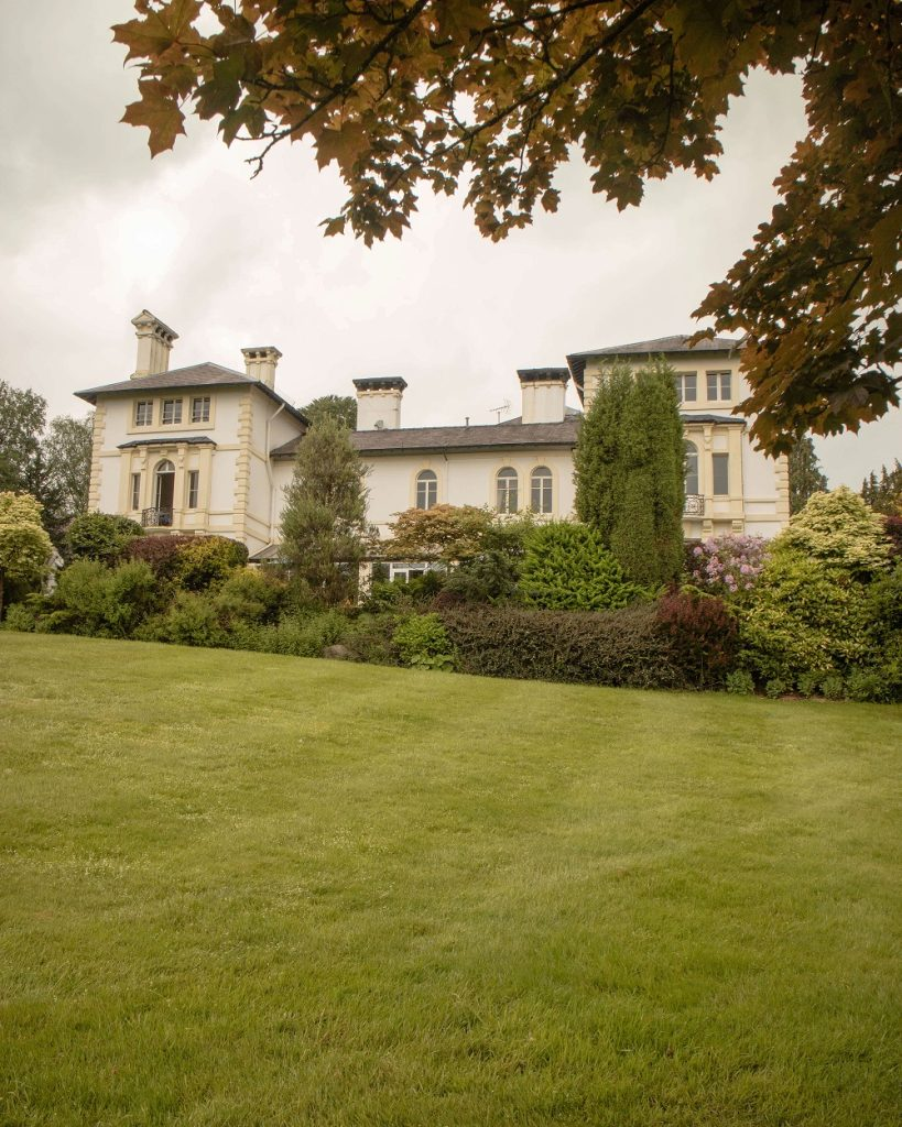 Summer at The Falcondale hotel in Lampeter