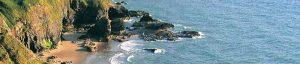 Cardigan Bay coastline