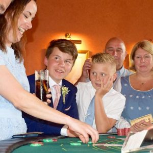 Casino hire at The Falcondale