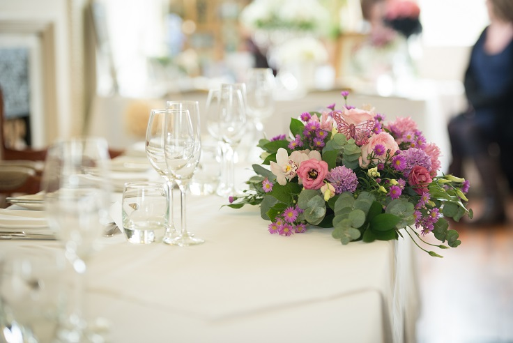 Wedding fayre flowers