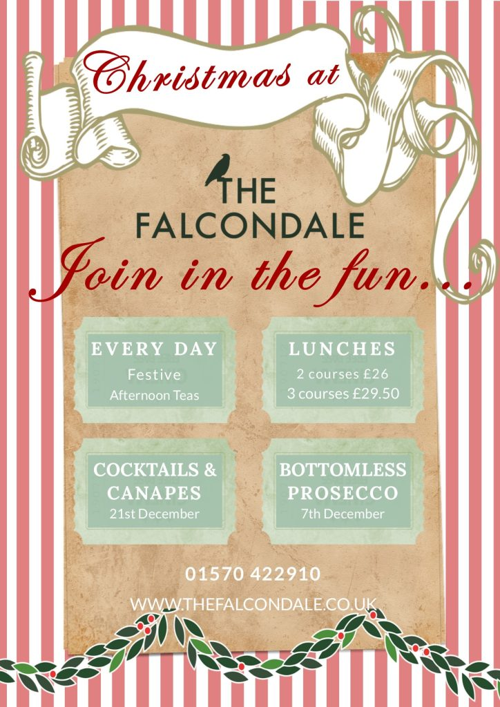 Join in the Christmas fun at The Falcondale