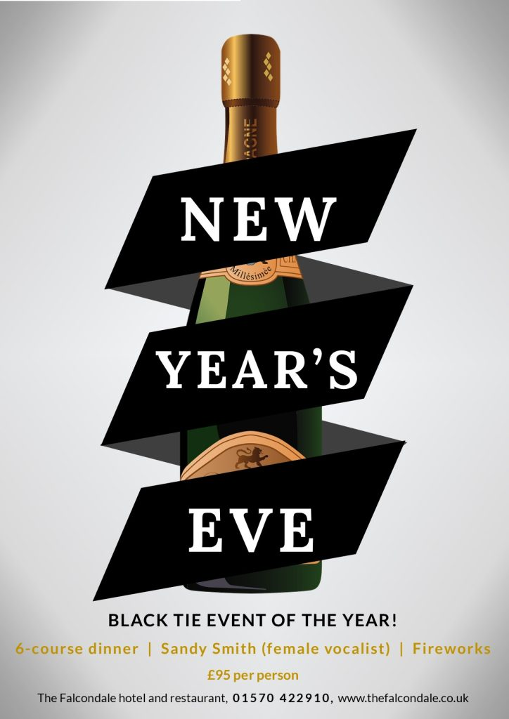 New Year's Eve event at The Falcondale, Lampeter