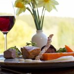 Spring wine and dine