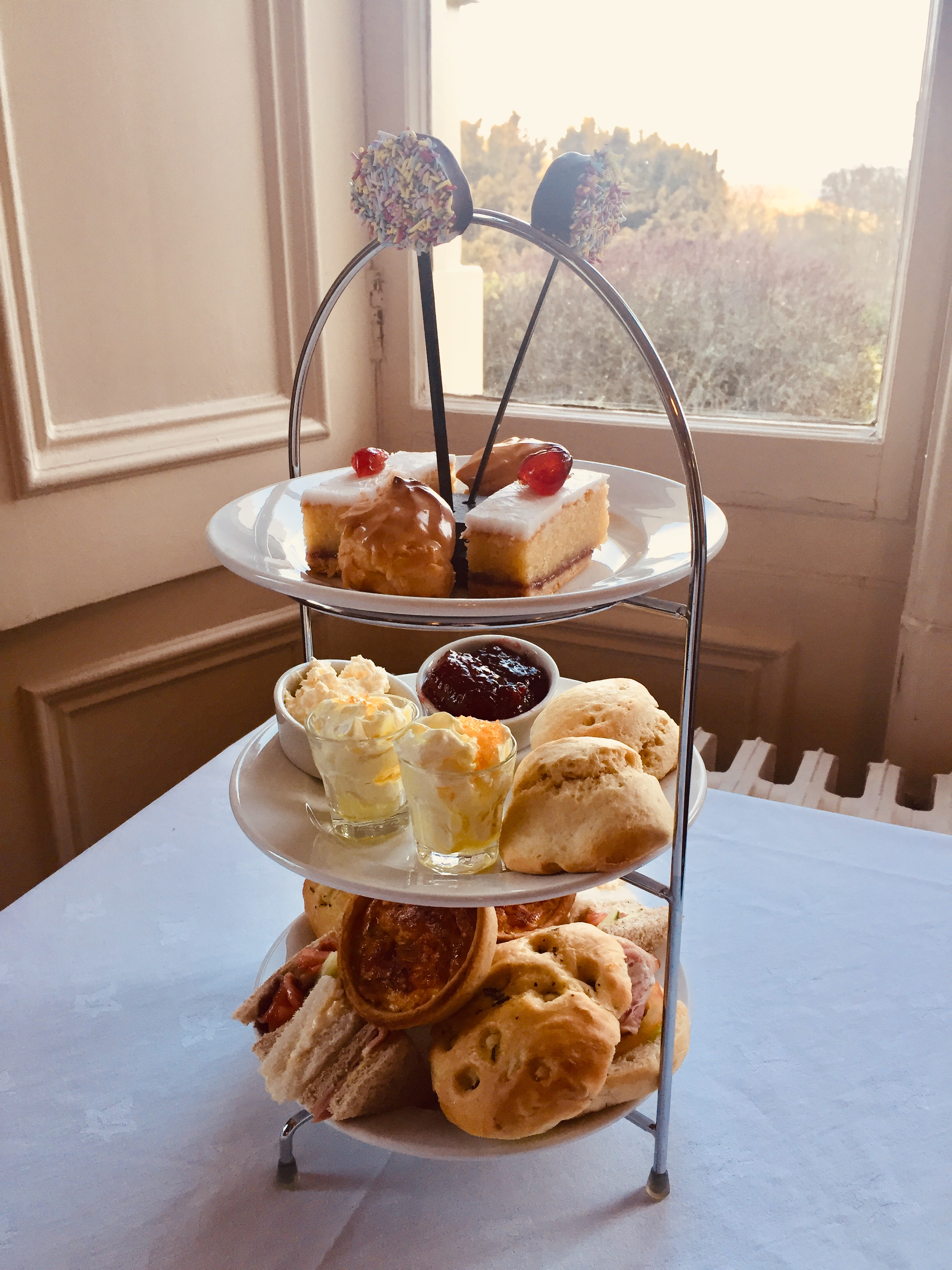 Falcondale afternoon tea